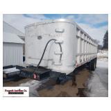 1983 City End Dump trailer with Hoist, 275/80R24.5