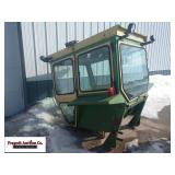 Hiniker Tractor cab, was for John Deere 4020, come