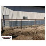 (4) Freestanding corral panels, 5