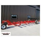 825 Bale Wagon - 10 Bale Capacity or 18,000lbs. Hc