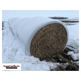 (10) Piper Sudan Grass Bales, Netwrapped and Bagg.