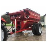 "2010 J&M 750 Bushel Grain Cart. 16"" Auger. Factory"