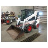 2005 Bobcat S300 Turbo, new tires, power quick-tat