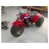Honda 185S 3-wheeler, not running but not stuck. I