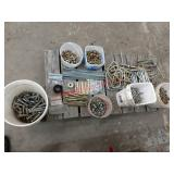 New misc. bolts and U-clamps. Item is located near