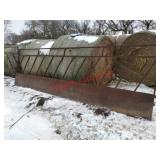 Bale Feeder Sections (4 sheeted, 2 open). Item is