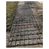 3 galvanized cattle panels, buying one money. Item