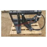 Tree/Post Puller, universal quick attach plate, po