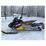 2012 Skidoo Ace 600 snowmobile. 1150 miles