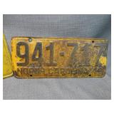 1949 NC Plate