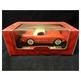1:18 Scale Mira Gold Line 1954 Corvette Diecast