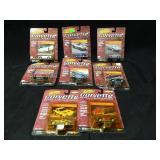 8 Johnny Lightning 1:64 Corvette Collectors
