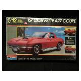 Monogram 1:12 1967 Corvette 427 Coupe Model