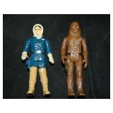 2 Vintage Star Wars Figures