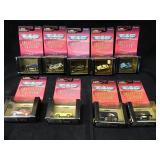 9 Micro Machine Collectors Edition Corvettes 1998