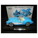 1958 1/12 GearBox Mint Series Corvette Blue