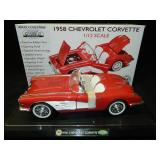 1958 1/12 GearBox Mint Series Corvette red