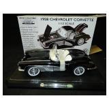 1958 1/12 GearBox Mint Series Corvette black