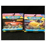 2 Sets of Micro Macine Corvette Collections