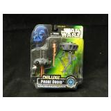1996 Star Wars Deluxe Probe Droid on Card
