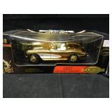 1/18 scale Yat Ming 24k Gold 57 Corvette