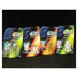 4 Star Wars Kenner Action Figures Droids