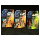 3 Kenner Star Wars Action Figures 1995