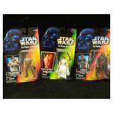 3 Star Wars Kenner Action Figures