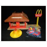 Vintage Playskool Mc Donalds Set