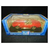 1/18 Scale Revell 1969 Corvette Conv, Die Cast