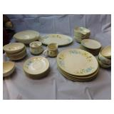41 Pieces Franciscan Daisy Pattern China Set