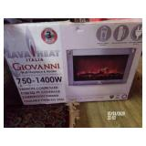 Lava Heat Wall Fireplace Heater NEW In Box