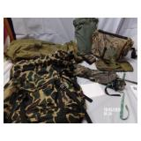 Camo Lot Backpack , duffle Pack Fanny Pack