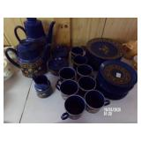 36 piece Blue China Set
