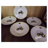 Lot of 5 John Deere Plates