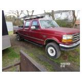 1997 Ford F350 4x4 7.3L Turbo Diesel Auto