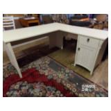 L Shaped Desk Good Condition