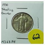 1930 Standing Quarter