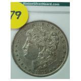 Binion Collection 1879-O Morgan Silver Dollar