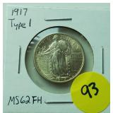 1917 Standing Quarter Type 1