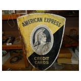 "60"" x 43"" American Express Metal Sign"