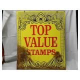 1963 Double Sided Top Value Stamps Sign