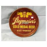 1941 Stegmaiers Beer Tray 12""