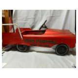 "Vintage Fire Fighter # 508 Pedal Car 45"" Long"