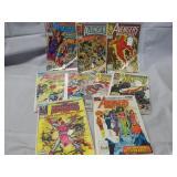 Lot of 9 Marvel Avengers & WC Avenger Comic Books