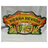 "11"" x 20"" Sierra Nevada Metal Sign"