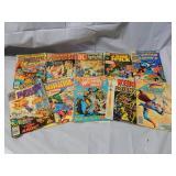 Lot of 10 Vintage Comic Books