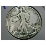 1942s Walking Liberty Half Dollar