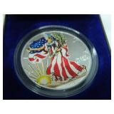 1999 colored Silver Eagle