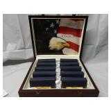 50 State Mint Quarter Collection with Display Case
